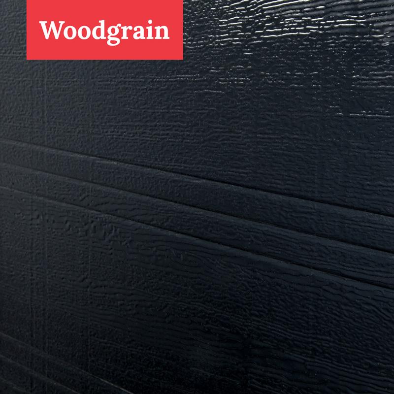 Garage doors model woodgrain model