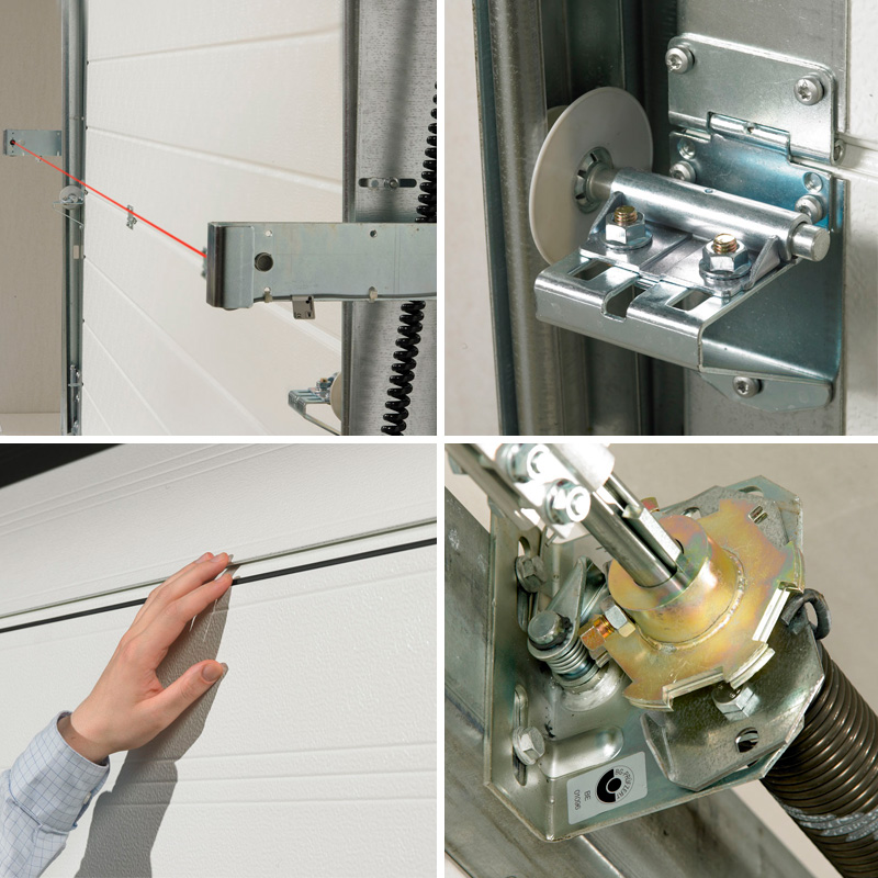 NASSAU sectional door safety pack