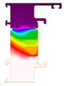 Thermal Illustration thermo door
