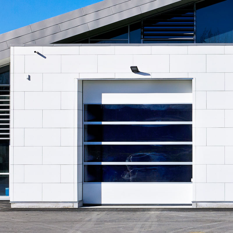 White NASSAU 9000F with windows