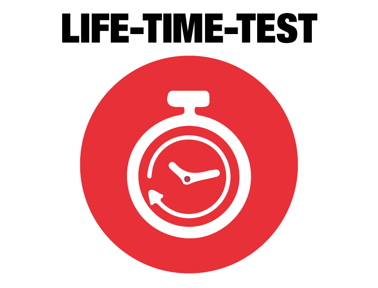 NASSAU life time test image