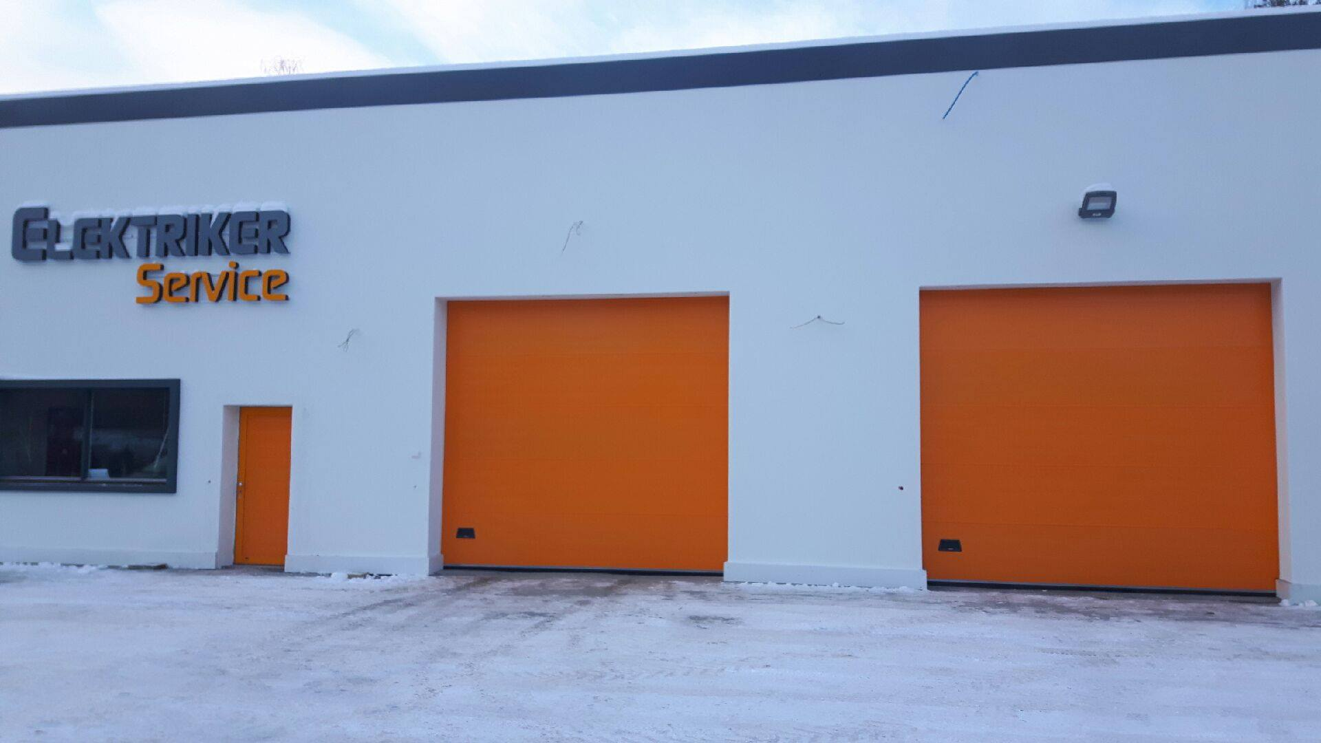 Orange Overheaddoors NASSAU 9000F