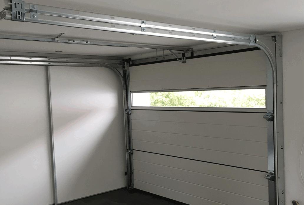 NASSAU Garage Door Interior With Panorama Window