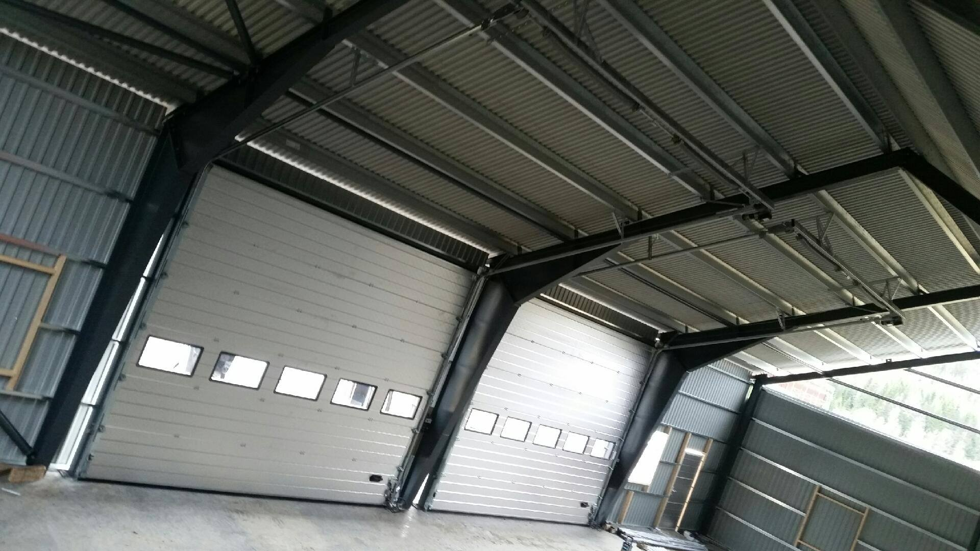 Industrial Doors NASSAU 9000F With Windows Interior