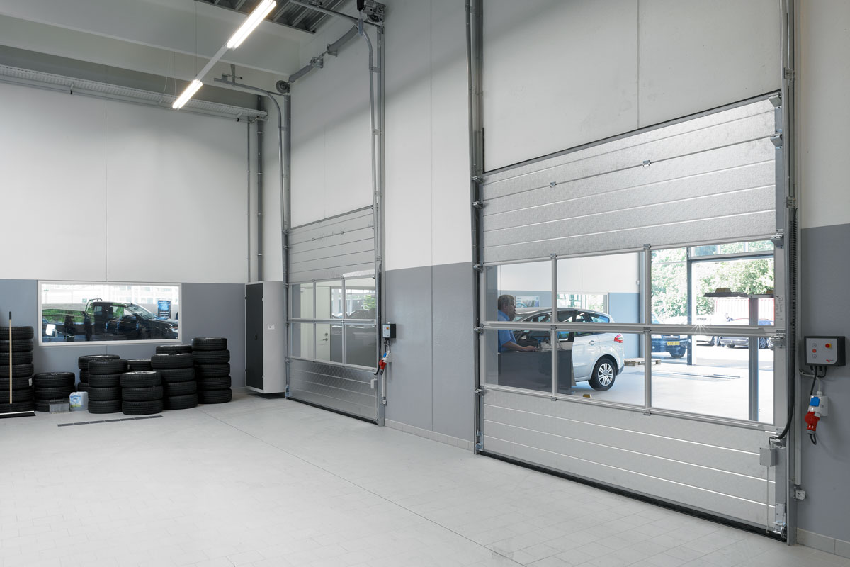 NASSAU 9000M Industrial Doors With Windows Interior