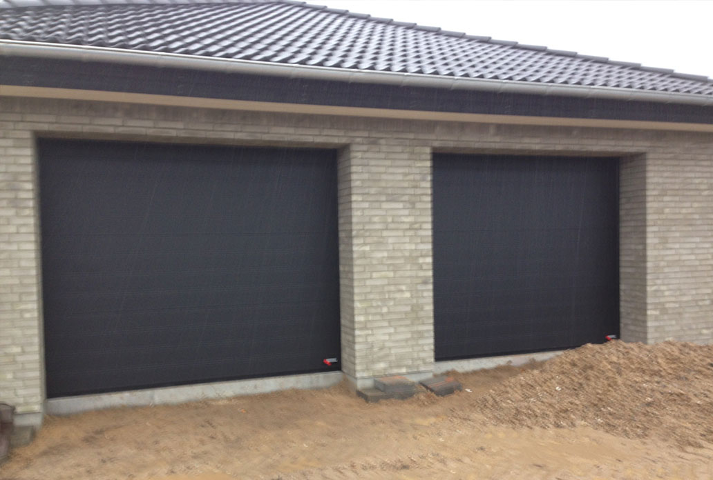 Double Black Granite NASSAU Softline Garage Doors