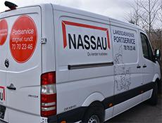 Nassau service truck