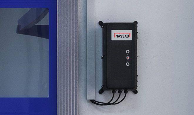 Electrical operation NCU310FU Control unit