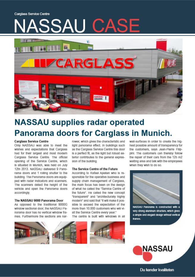 NASSAU case Carglass panorama Munich