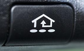 get a homelink button for your garage door