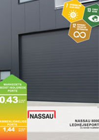europas best insulated energy-saving sectional door