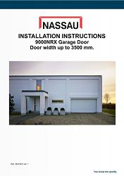 9000NRX door width up to 3500